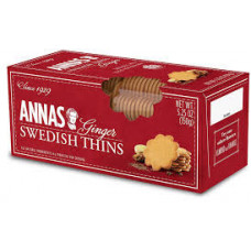 Annas ginger thins cookies