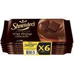 Shneiders Dark Chocolate  6 Pack