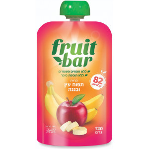 Fruit Bar Apple Banana