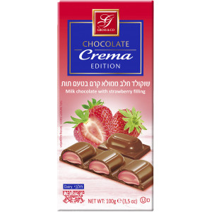 Strawberry filled Milk Chocolate