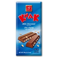 Knak milk chocolate with rice