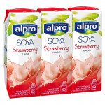 Soya milk Tripack strawberry