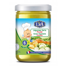 Baby food green Vegetable Chicken