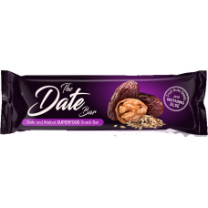 Date and Walnut snack bar