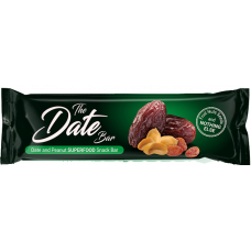 Date and Peanut snack bar