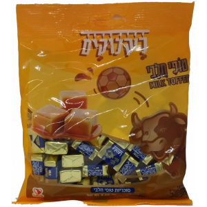 Milk toffee candies