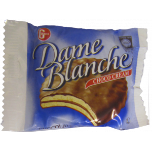 Dame Blanche Chocolate   individual