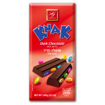 Knak dark chocolate with lentils