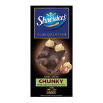 Shneiders dark chunky hazelnut Chocolate