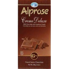 Alprose Milk Cream Deluxe Gianduja Chocolate
