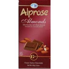 Alprose Milk Chocolate Almonds