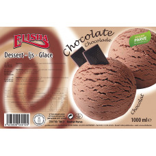 De Luxe chocolate ice cream - Parve