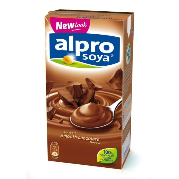 Pudding choco for Alpro soya cuisine