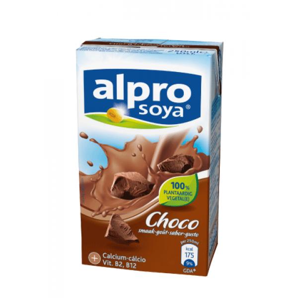 Soyamilk tripack choco for Alpro soya cuisine